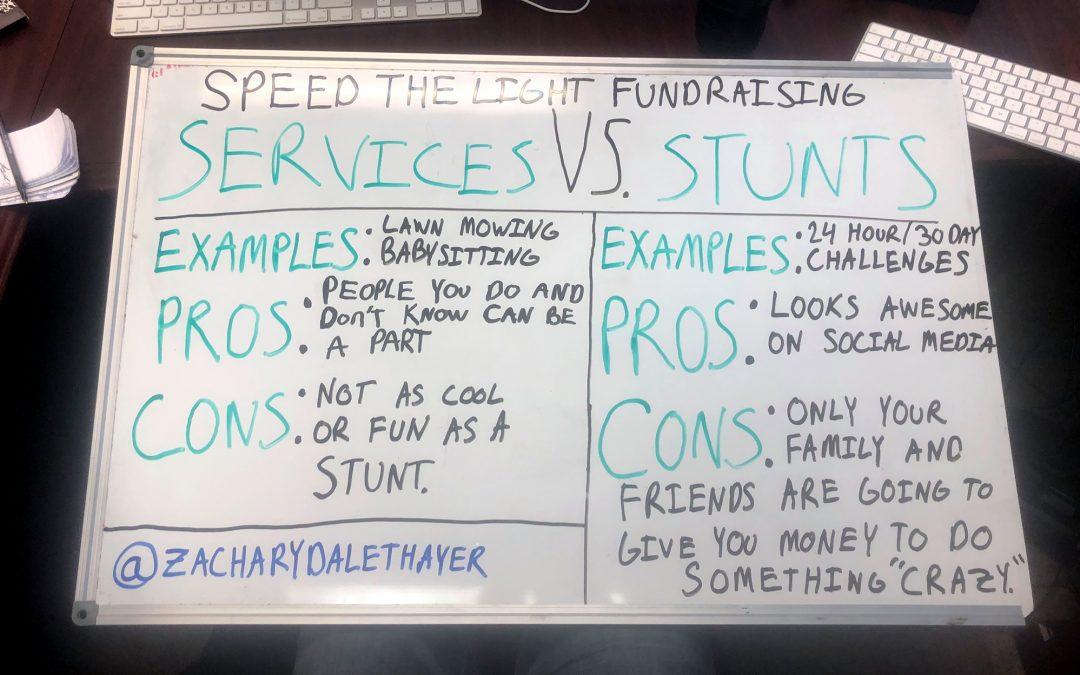 Services vs. Stunts